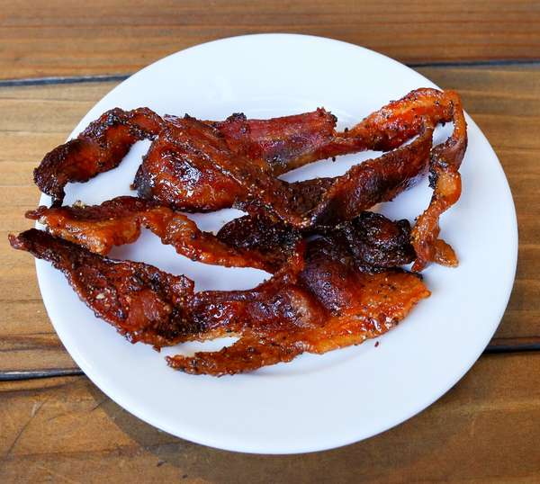 Sweet + Spicy Bacon