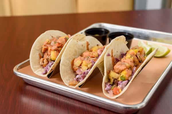 Smoked Pork Belly Tacos