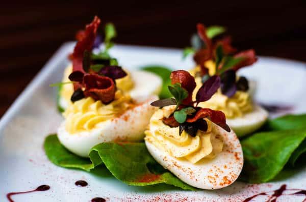 Secreto Deviled Eggs