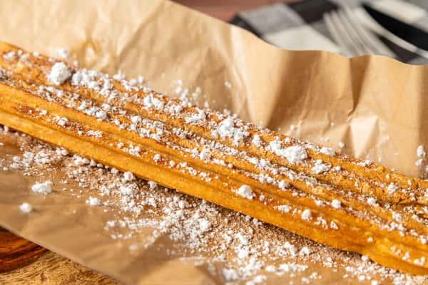 Churro Filled with Bavarian Cream