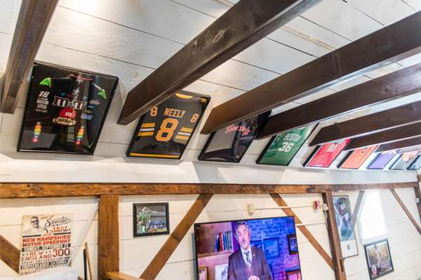 shirts in the rafters