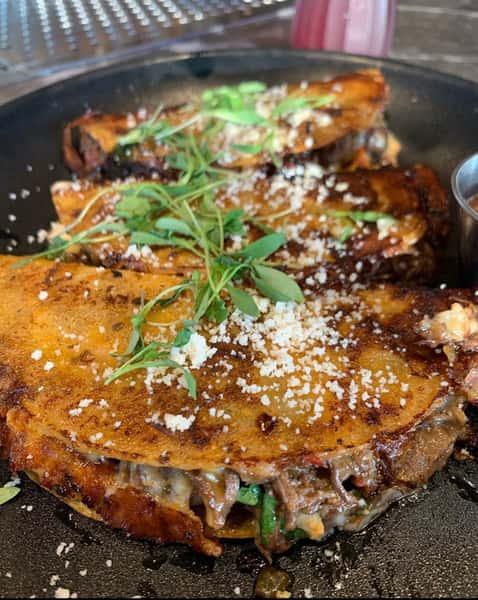 Crawfish Birria Tacos
