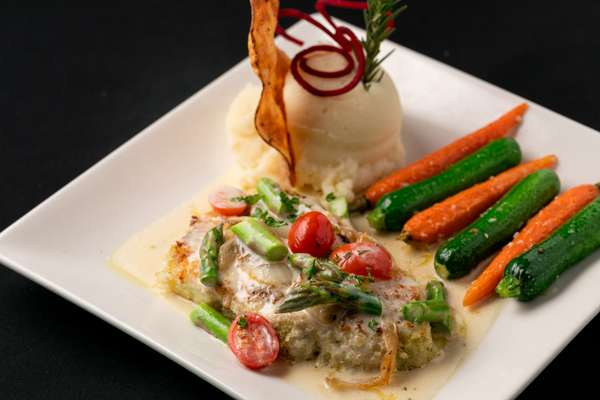 Parmesan Crusted Chilean Seabass