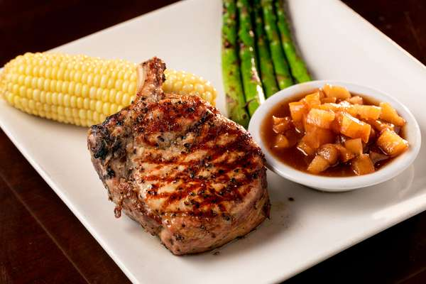 Charred Pork Chop