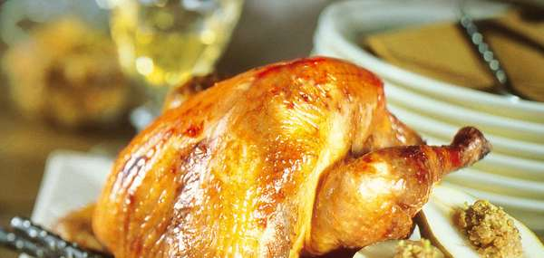 Roasted Young Chicken Dinner for Two