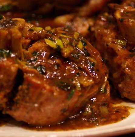 Tomato Braised Osso Bucco Dinner for Two