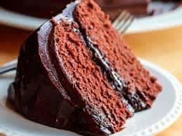 Devils Food Cake Dessert for Two