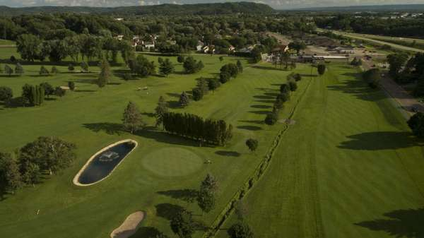 golf course overhead view