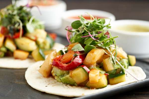 STIR-FRIED VEGGIE TACOS