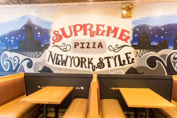 supreme pizza interior