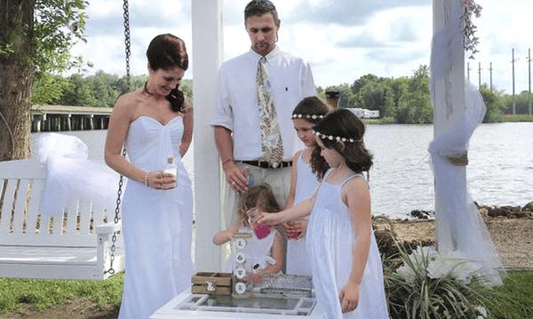 family for wedding