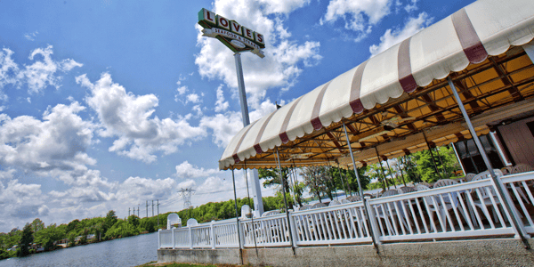 restaurant on the waterfront
