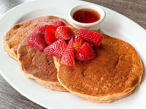 Almond Energy Pancakes