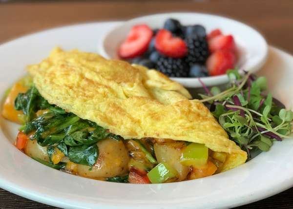 CREATE YOUR OWN OMELETTE OR SCRAMBLE