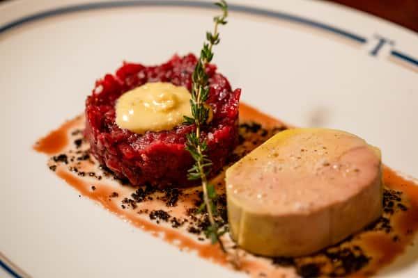 Steak Tartare & Foie Gras Torchon*