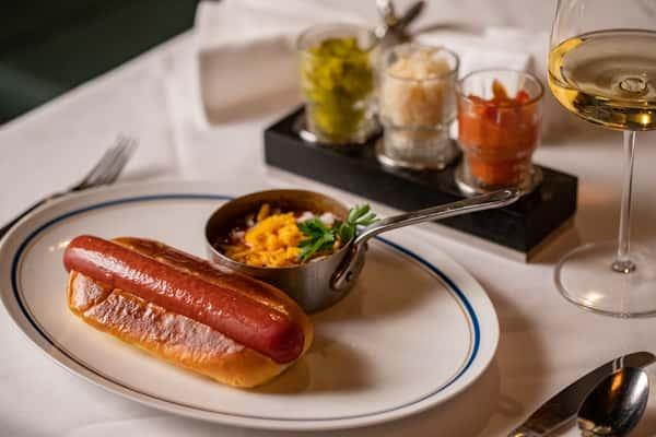 hot dog service