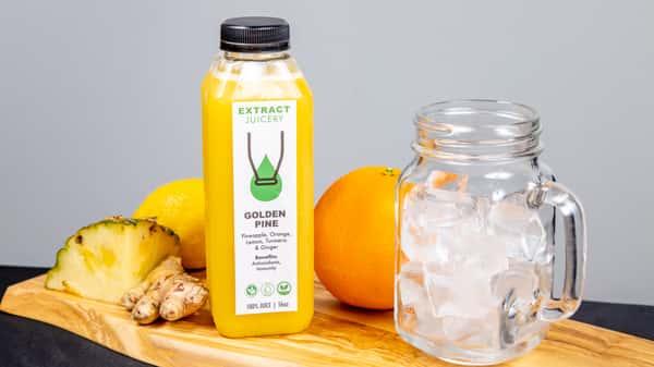 Golden Pine Bottled Juice