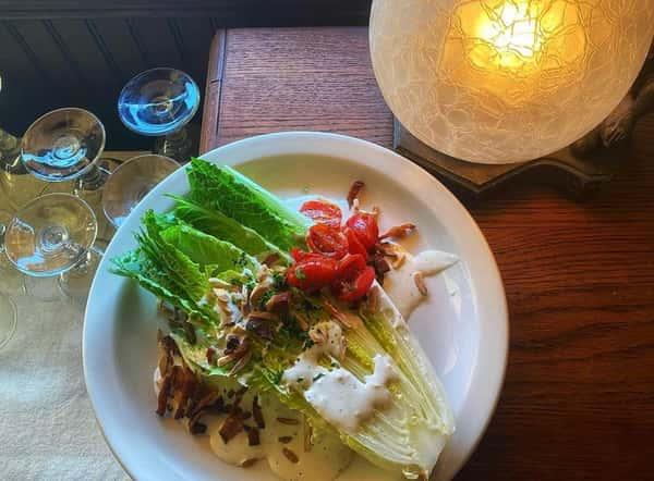 Knife and Fork Caesar Salad