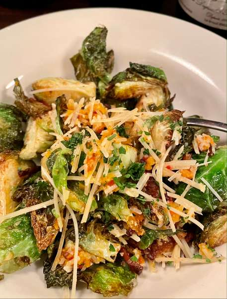 Crispy Fried Brussels Sprouts