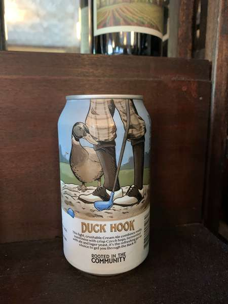 Duck Hook, Cream Ale