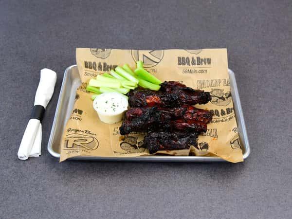 Smoke, Fried, Grilled Wings