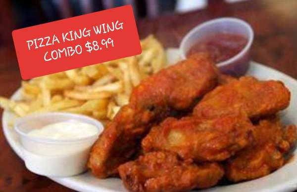 PIZZA KING WING COMBO