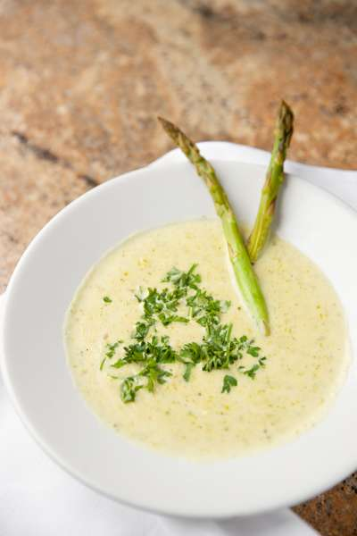 asapragus soup