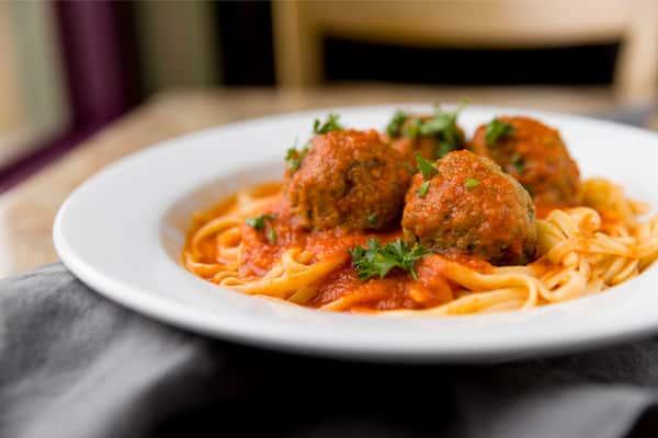 Linguini & Meatballs
