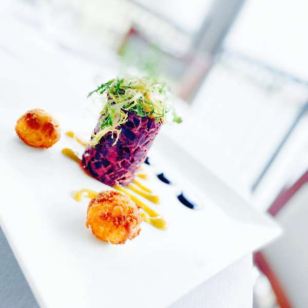 Beets & Fried Goat Cheese