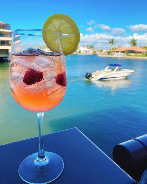 Drink on waterfront