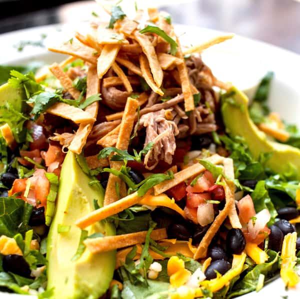 Cilantro Ranch Carnitas Salad