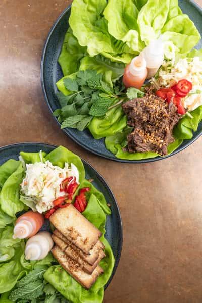 Korean BBQ Lettuce Wraps