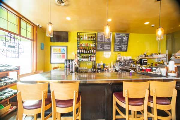 Interior dining and bar