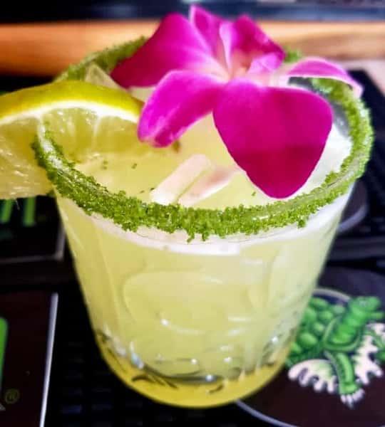 Pineapple Cilantro Margarita