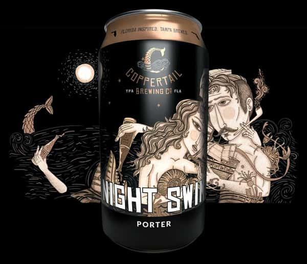 Night Swim Porter - Coppertail Brewing, FL