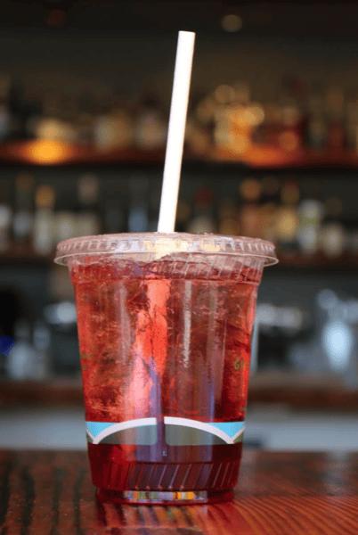 Pomegranate Hibiscus Soda