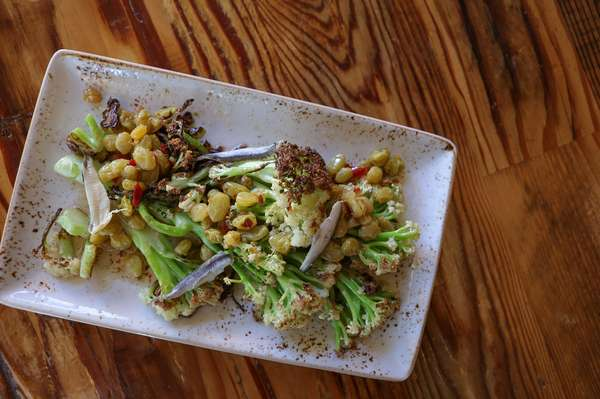 Roasted Florentino Cauliflower