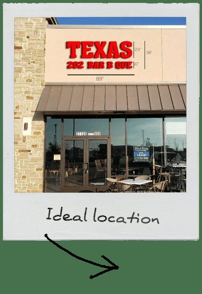 ideal location polaroid