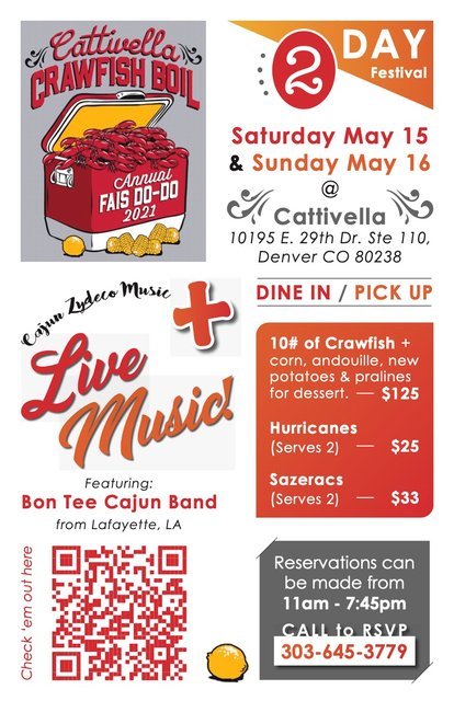Annual Crawfish Boil/ Cajun Fais Do Do