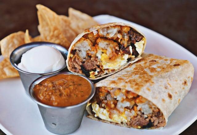 Smoqued Burrito