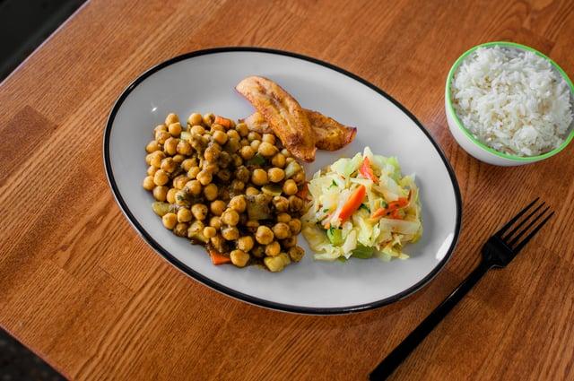 Curry Garbanzo Beans