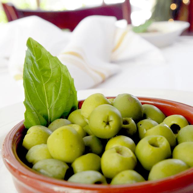 Marinated Organic Olives