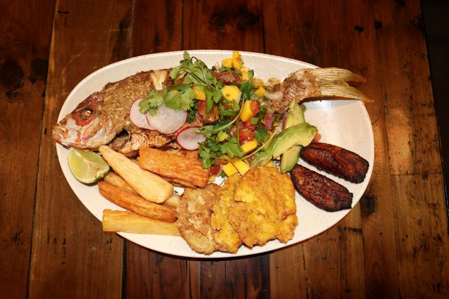 Pargo Frito a lo Cubano (Fried Cuban Spiced Whole Red Snapper)
