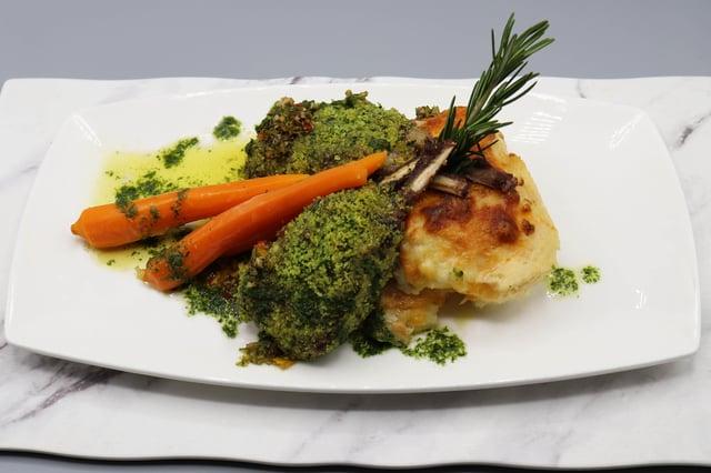 Dijon & Herb Crusted New Zealand Lamb Rack