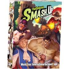 Smash Up World Tour International Incident
