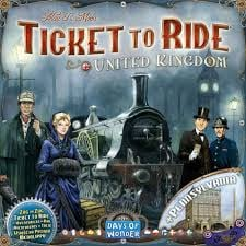 Ticket to Ride United Kingdom/ Pennsylvania
