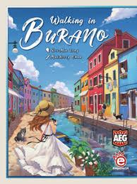 Walking in Burano