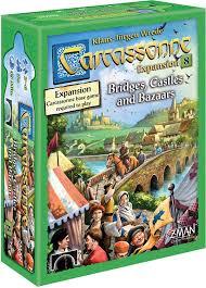 Carcassonne Bridges, Castes and Bazaars