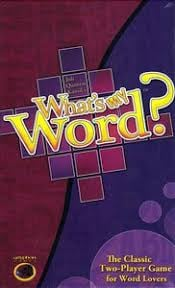 What's My Word