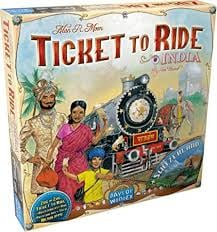 Ticket to Ride India/Switzerland